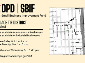 35th/Wallace TIF District                      October 2021 SBIF Rollout