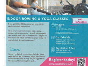 ROW Indoor Rowing & Yoga Classes