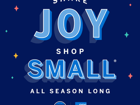SUPPORT YOUR FAVORITE BUSINESSES ON SHOP SMALL SATURDAY, NOVEMBER 28