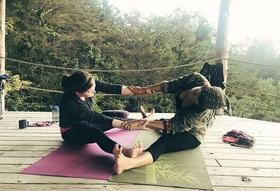 Partner Yoga Seven Springs Retreat