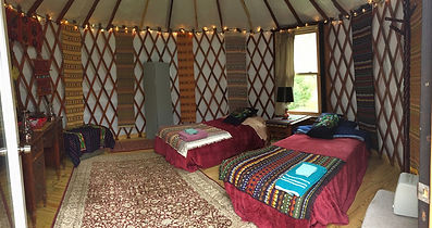 Seven Springs Yurts Tennessee