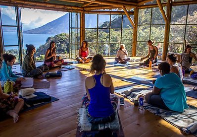 Sacred Expression Women's Retreat Yoga Forest