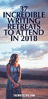 Recommended Writing Retreats 2018