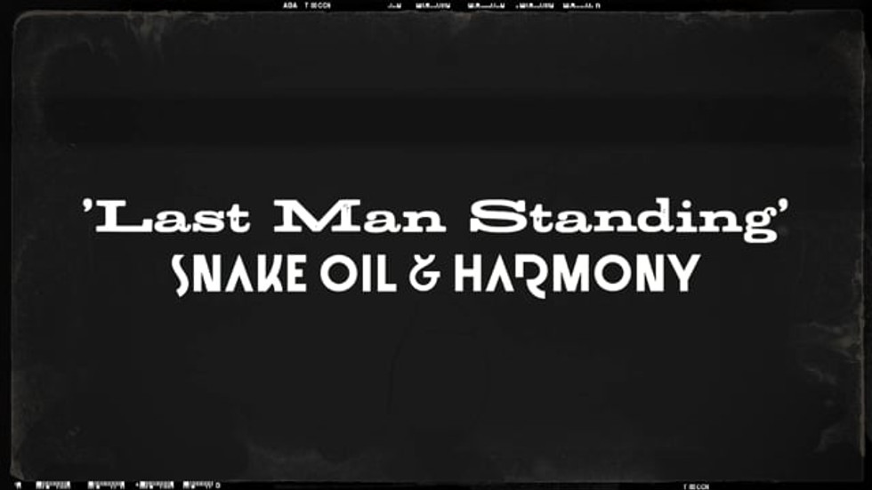 Last Man Standing - Lyric Video