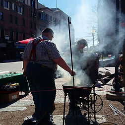 Forging in Portland Maine, a tradition o