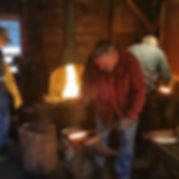 Last night of Forge Welding Class #maine