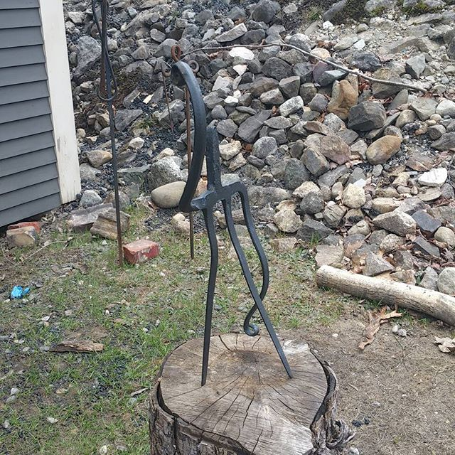 Come on down to our forge in Newfield, we are open til 6pm today! Come see our spring Ironwork! 70 E