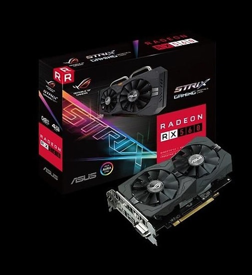 ASUS ROG-STRIX-RX560-4G-EVO-GAMING GRAPHIC CARD