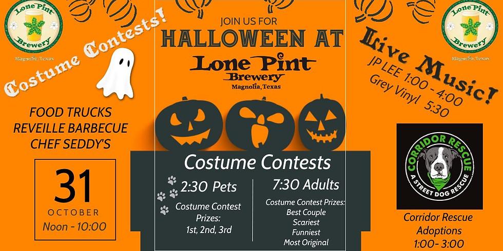 Halloween Fun at Lone Pint Brewery