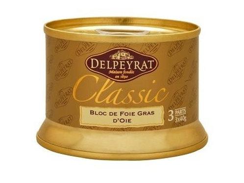 Bloc of Goose Foie Gras 120g