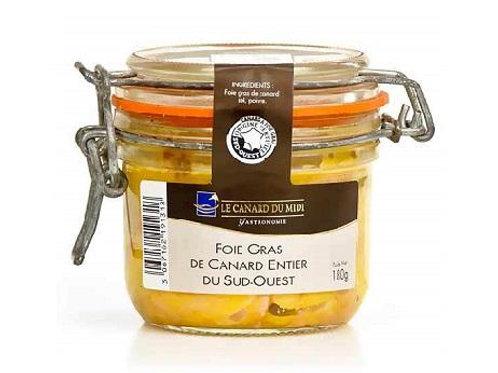 Whole Duck Foie Gras 180g