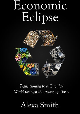 First Cover Design for An Economic Eclipse