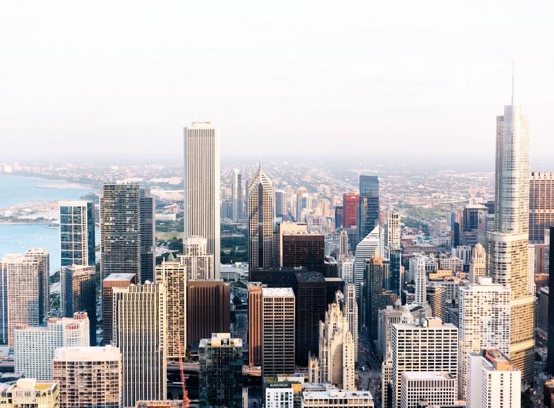 Skyscraper View of Chicago