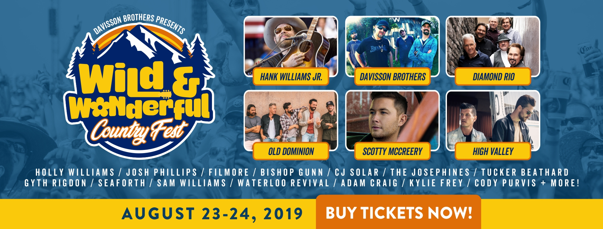 Wild and Wonderful Country Music Fes