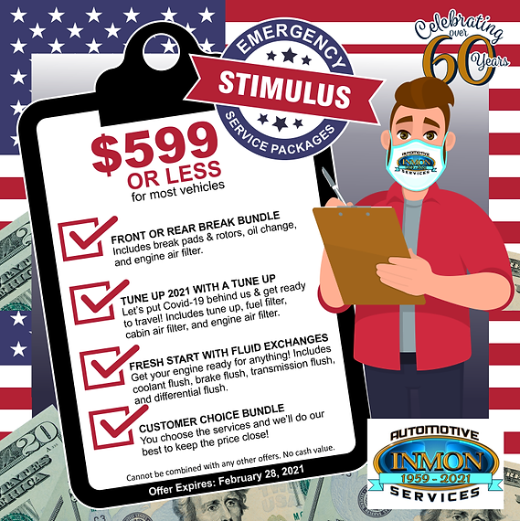 Emergency Stimulus Service Packages with