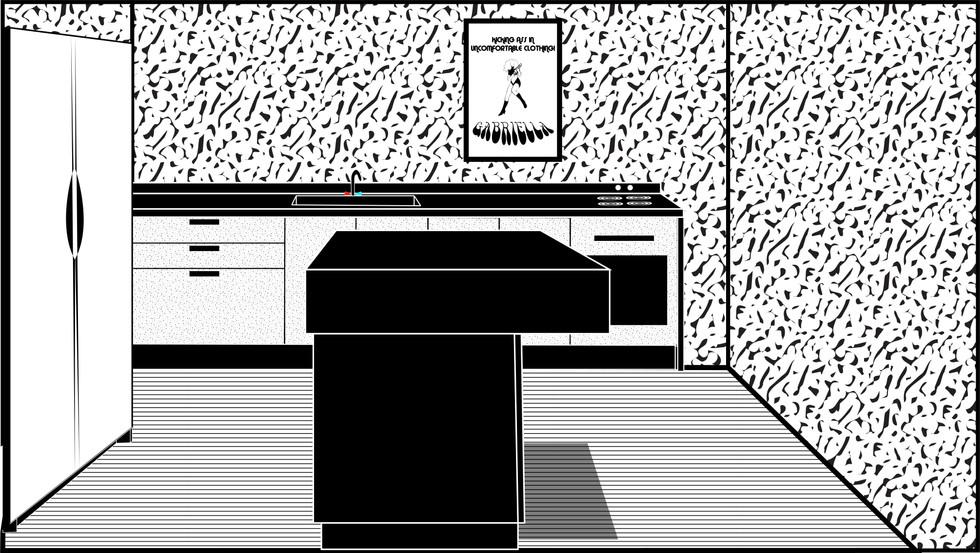 Benny's Apartment Interior