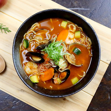 Korean Spicy Seafood Jjamppong Ramen