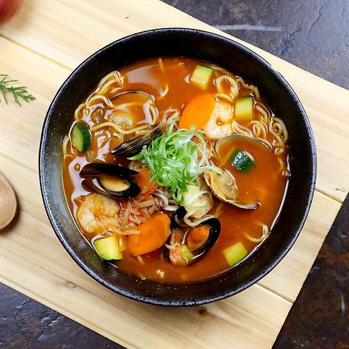 Korean Spicy Seafood Jjamppong Ramen