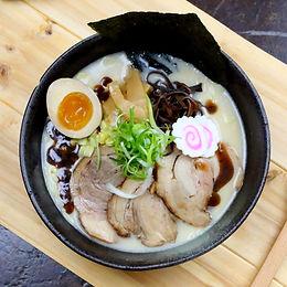 Japanese Black Garlic Tonkotsu Ramen