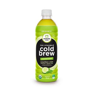 matcha LOVE Ice-Steeped Cold Brew Cucumber Mint + Matcha + Green Tea