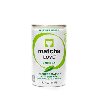matcha LOVE Unsweetened Japanese Matcha + Green Tea Energy Shot