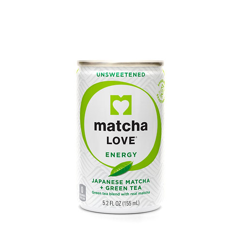 matcha LOVE Unsweetened Japanese Matcha + Green Tea Energy Shot