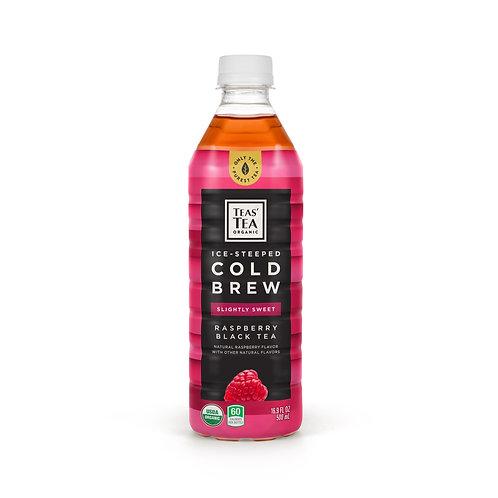 Teas' Tea Organic Ice Steeped Cold Brew Raspberry Black Tea