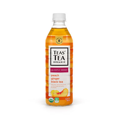 Teas' Tea Organic Slightly Sweet Peach Ginger Black Tea
