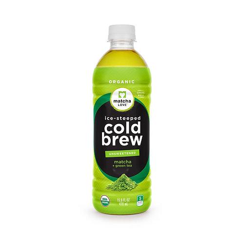 matcha LOVE Ice-Steeped Cold Brew Matcha + Green Tea