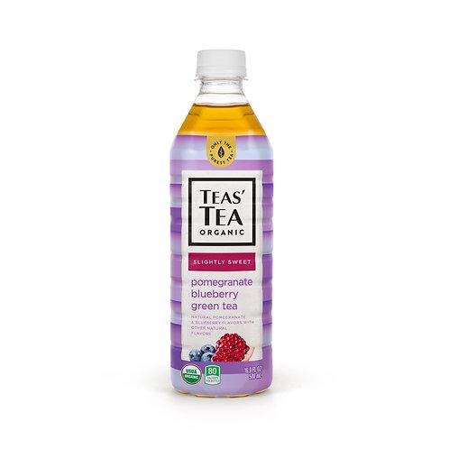 Teas' Tea Organic Slightly Sweet Pomegranate Blueberry Green Tea