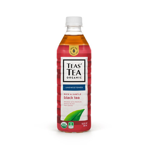 Teas' Tea Organic Unsweetened Black Tea