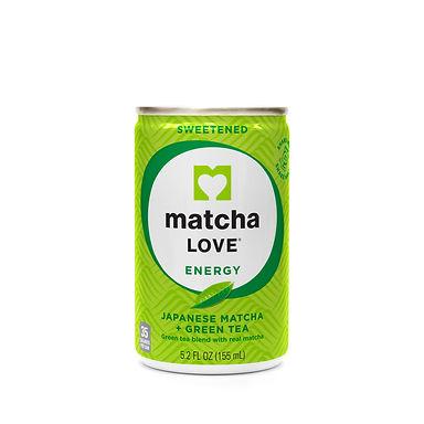 matcha LOVE Sweetened Japanese Matcha + Green Tea Energy Shot