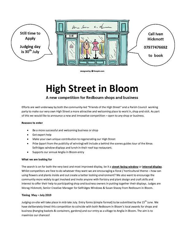 High Street in Bloom V6 June 6th 2019 (0