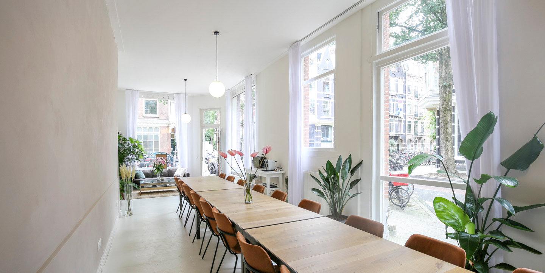 Inspirerende vergaderlocatie in Amsterdam Oud West