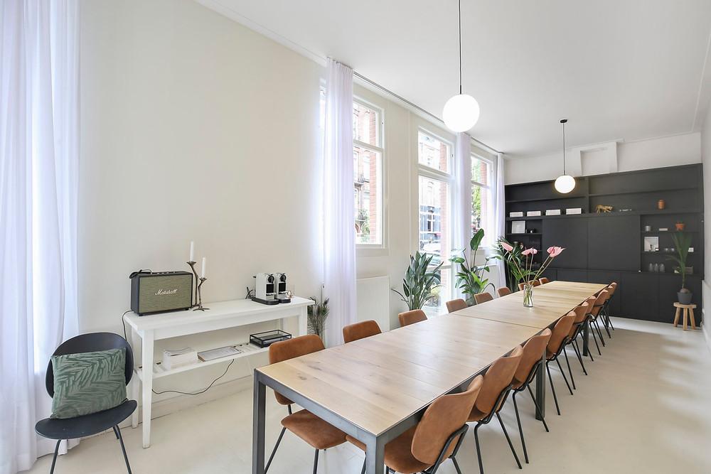 Inspirerende vergaderruimte in Amsterdam Oud-West