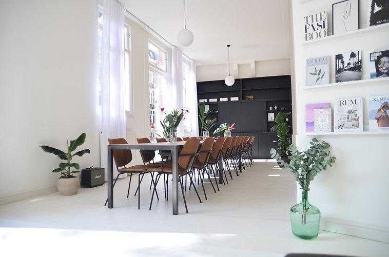 Inspirerende vergaderruimte Amsterdam Oud West