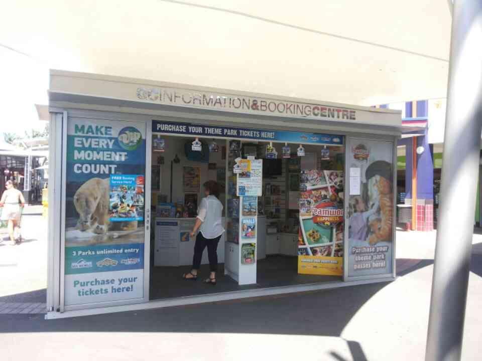 Information Kiosk & Bookings.