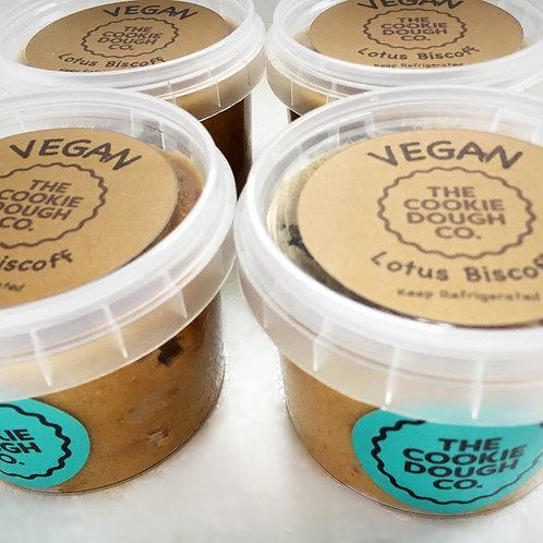 Vegan Lotus Biscoff x4