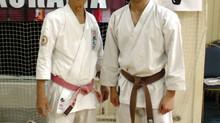Семинар Тецухиро Хокамы (10 дан Годзю-рю), Кена Огуры (8 дан айкидо) и Лизункова И.А. (7 дан Годзю-р