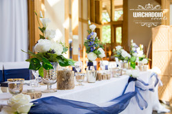 wedding top table styling