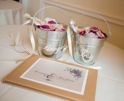 personalised petal cans