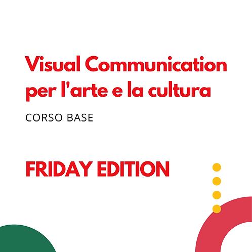 Visual Communication per l'Arte e la Cultura - Corso del Venerdì