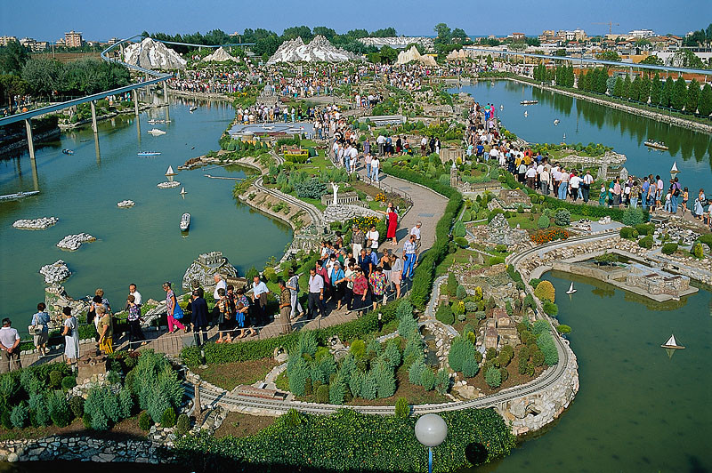 Italia in Miniatura, theme park in Rimini