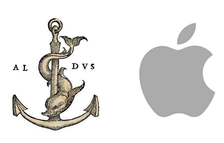 Manutius and Apple logos