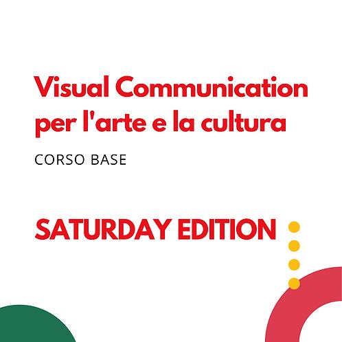 Visual Communication per l'Arte e la Cultura - Corso del sabato