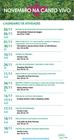 Veja as atividades do mês de novembro