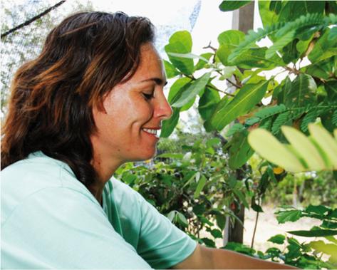 Christiane Nogueira, uma ecologista apaixionada pela floresta brasileira