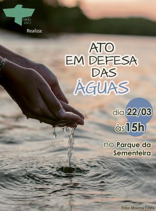 ONGs sergipanas promovem Ato em Defesa das Águas