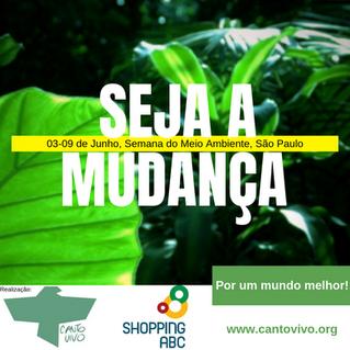 Inscrições abertas para a Semana do Meio Ambiente do Instituto Canto Vivo