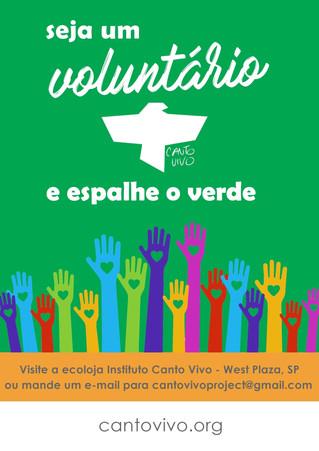 Instituto Canto Vivo abre seleção para voluntários em São Paulo